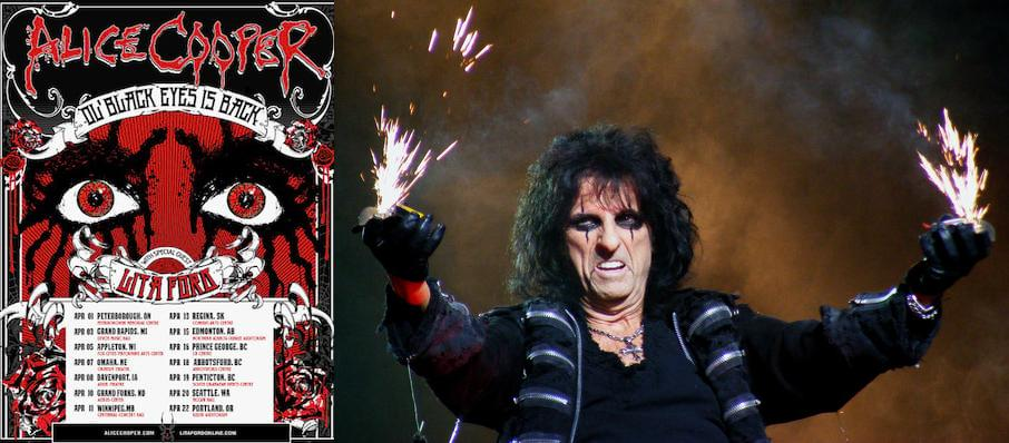Alice Cooper at Devos Performance Hall