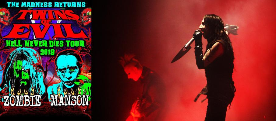 Rob Zombie and Marilyn Manson at Van Andel Arena