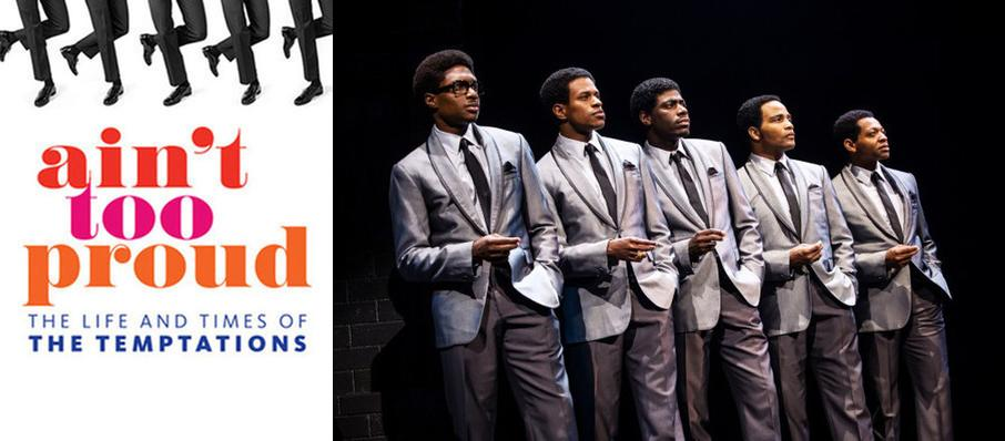 Ain't Too Proud - The Life and Times of the Temptations at Devos Performance Hall