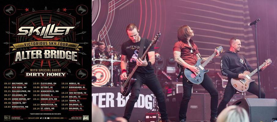 Alter Bridge and Skillet at 20 Monroe Live
