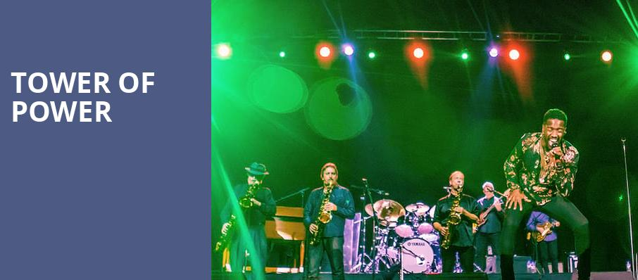 Tower of Power, Forest Hills Fine Arts Center, Grand Rapids