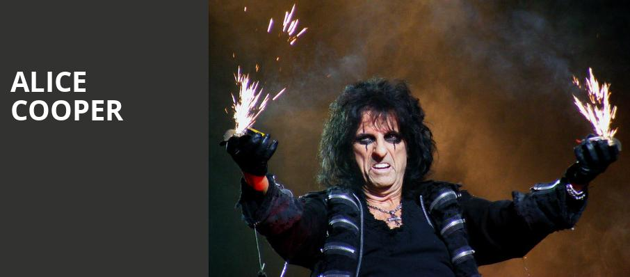 Alice Cooper, Devos Performance Hall, Grand Rapids