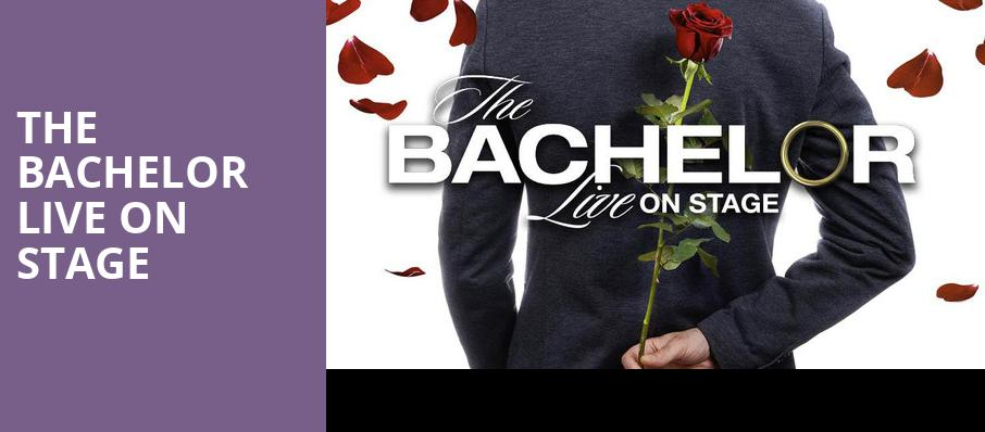 The Bachelor Live On Stage, Devos Performance Hall, Grand Rapids