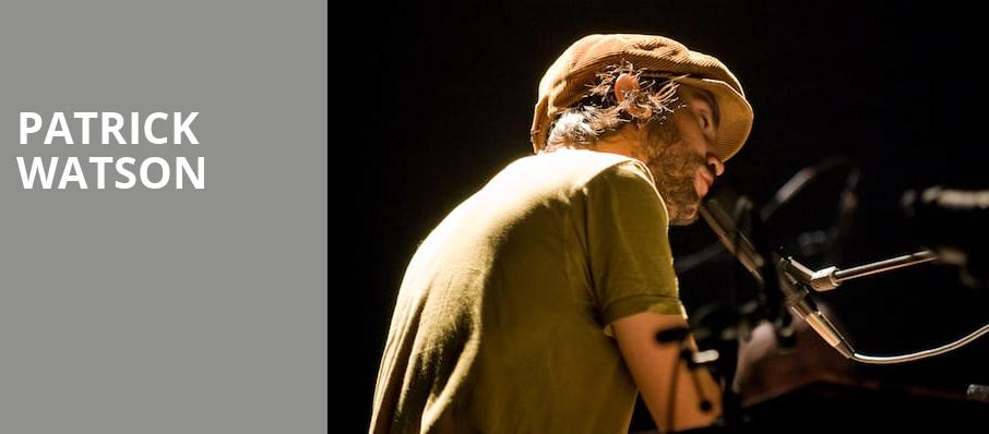 Patrick Watson, The Pyramid Scheme, Grand Rapids