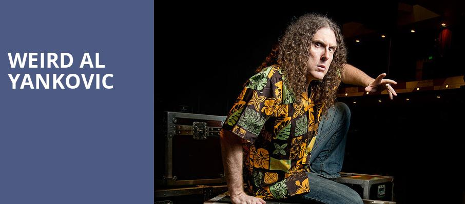Weird Al Yankovic, Devos Performance Hall, Grand Rapids