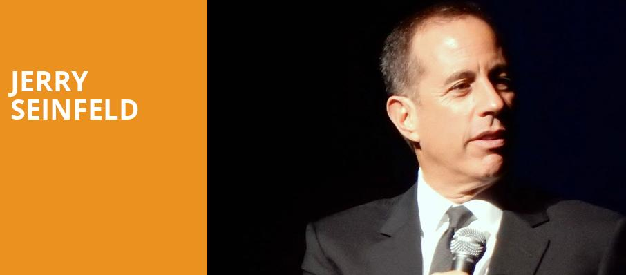 Jerry Seinfeld, Devos Performance Hall, Grand Rapids