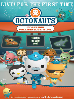 Octonauts Live, Devos Performance Hall, Grand Rapids